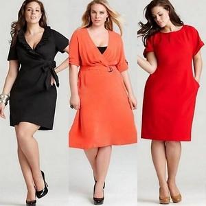 Купить одежду большого размера женскую недорого