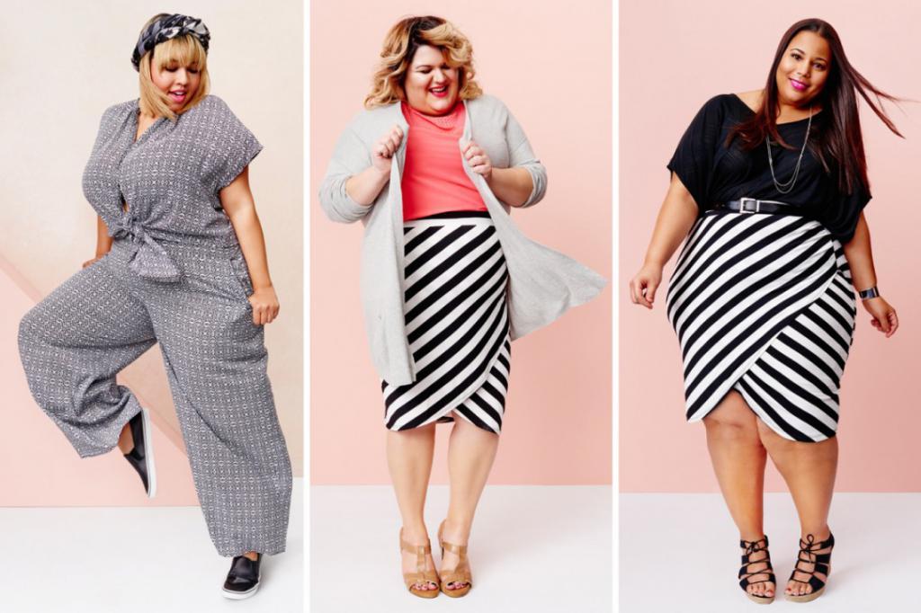 a6edd285854 Недорогие магазины одежды больших размеров для женщин в Москве - где ...