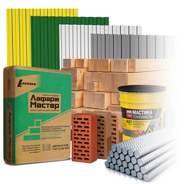 Строительные и отделочные материалы по выгодной цене